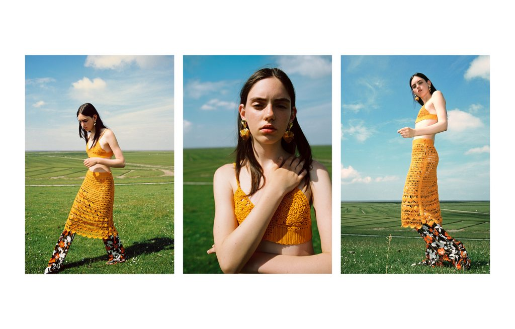 Analog Fashion Editorial with stunning Natalie from Girls Club